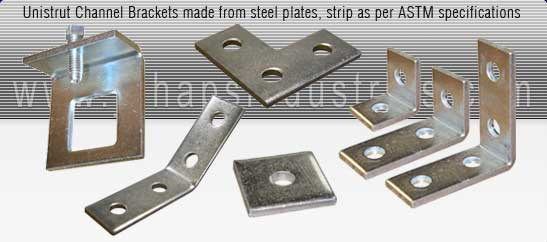 channel brackets india - Square Plate Washers, Flat Plate Brackets, Flat L bracket, T bracket, Angle bracket, Delta bracket, Welded Gusset bracket, Obtuse bracket, Z bracket, Top Hat bracket, Base Plates, Internal & External Connectors, Wing brackets exporters seller uk, usa, dubai, australia