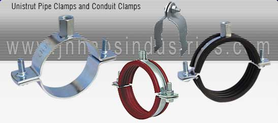 pipe clamps manufacturer india - strut pipe clamps with rubber - Casting Pipe Clamp exporters seller uk, usa, dubai, australia