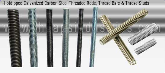 threaded rods manufacturer india - rolled thread bars, manufacturers in india, DIN, UNC, metric, mild steel thread rods exporters seller uk, usa, dubai, australia